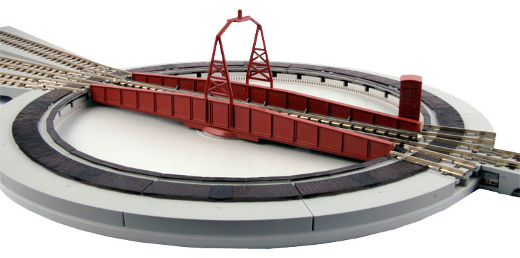 Drehscheibe für die Modelleisenbahn von KATO UNITRACK Spur N