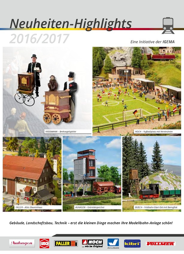 IGEMA Neuheiten-Highlights 2016/2017