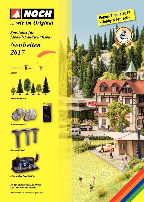 NOCH Neuheiten 2017