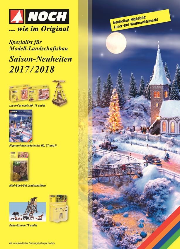 NOCH Saison-Neuheiten 2017/2018