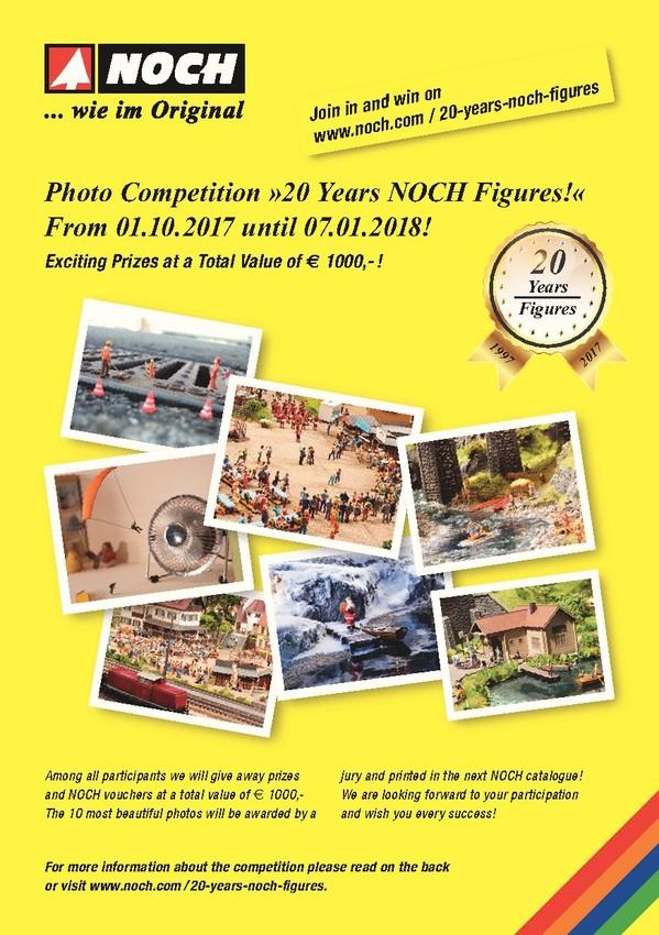 NOCH Season Promotion 2017/2018 - Competition Details