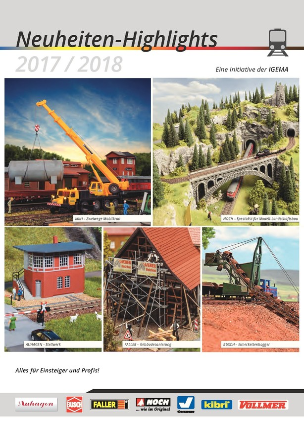 IGEMA Neuheiten-Highlights 2017/2018