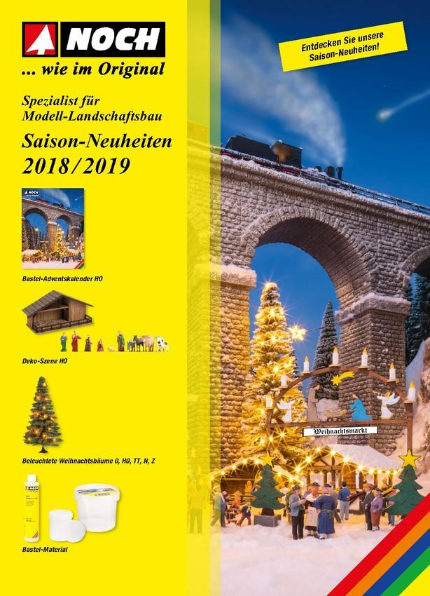 Saison-Neuheiten 2018/2019