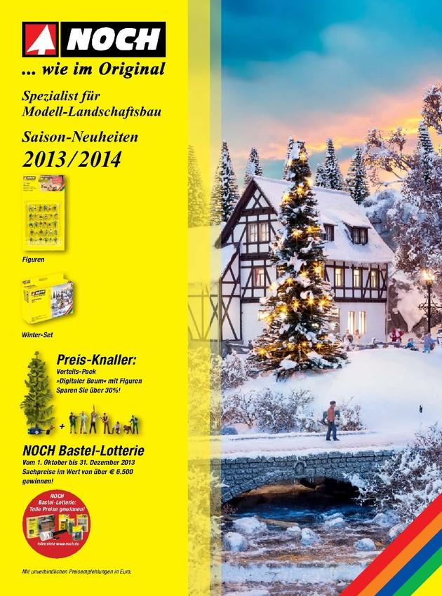 NOCH Saison-Neuheiten 2013/2014