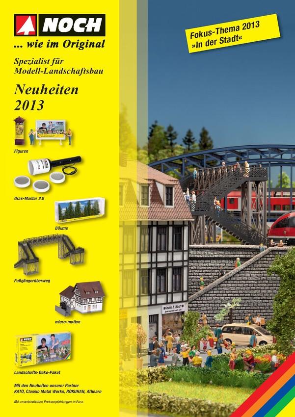 NOCH Neuheiten 2013