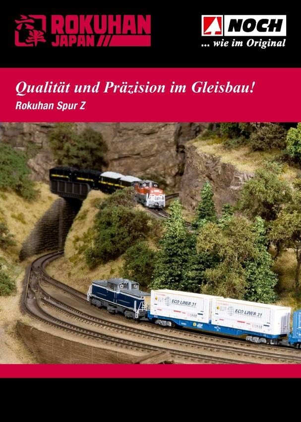 Rokuhan Spur Z - Qualität und Präzision im Gleisbau