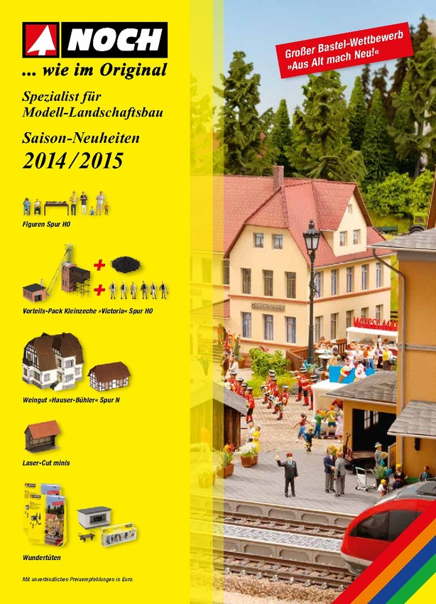 NOCH Saison-Neuheiten 2014/2015