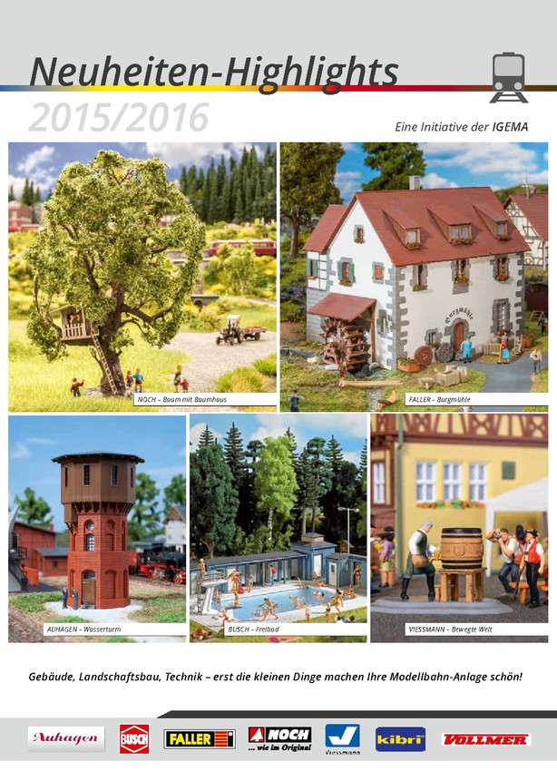 IGEMA Neuheiten-Highlights 2015/2016