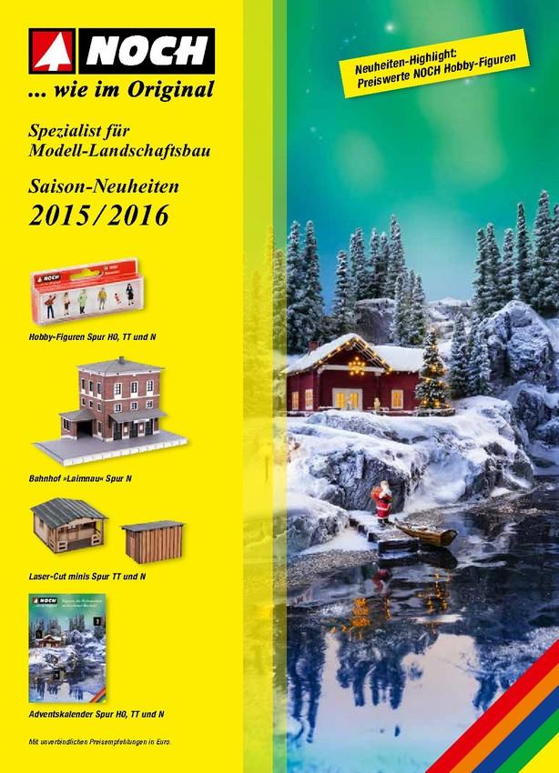 NOCH Saison-Neuheiten 2015/2016