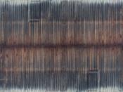3D-Kartonplatte Bretterwand verwittert