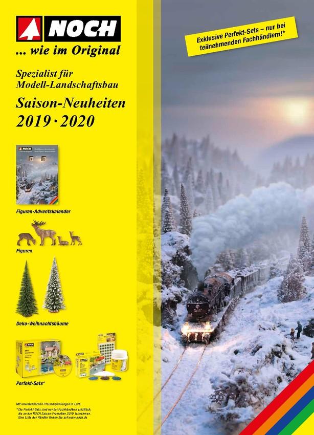 NOCH Saison-Neuheiten 2019