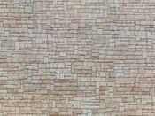 3D-Kartonplatte-Kalksteinmauer