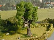Baum mit Baumhaus