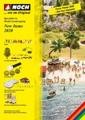 """Neuheitenprospekt 2020 Englisch """"New Items"""""""