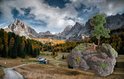 Diorama-Kit Rocky Mountain