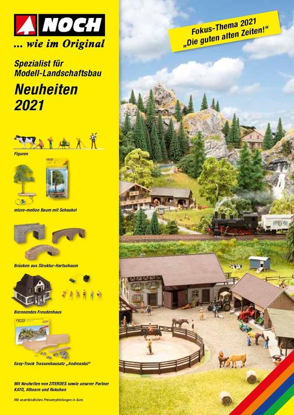 NOCH Neuheiten 2021