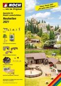 NOCH Neuheitenprospekt 2021 Deutsch mit UVPs